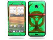 Mightyskins Protective Skin Decal Cover for HTC Evo 4G LTE Sprint Cell Phone T-Mobile wrap sticker skins Biohazard