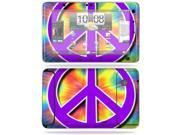 MightySkins Protective Vinyl Skin Decal Cover for HTC EVO View 4G Android Tablet Sticker Skins Hippie Time