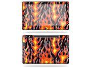 """Mightyskins Protective Vinyl Skin Decal Cover for Samsung Series 7 Slate 11.6"""" Inch Tablet wrap sticker skins Hot Flames"""