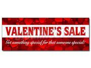 "24"" VALENTINE'S DAY SALE DECAL sticker sale holiday valentine romantic love"