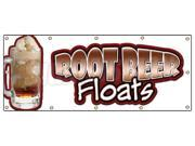 "48""""x120"""" ROOT BEER FLOATS BANNER SIGN rootbeer float mug signs cold drinks"" 9SIA4431BY7896"