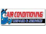 "48"""" AC REPAIR & SERVICE DECAL sticker hvac air conditioning estimates finance"" 9SIA44334A0487"