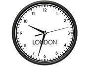 LONDON TIME Wall Clock world time zone clock office business