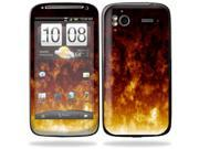 Mightyskins Protective Vinyl Skin Decal Cover for HTC Sensation 4G Cell Phone wrap sticker skins  - Firestorm