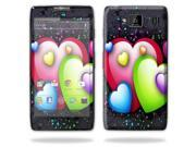 Mightyskins Protective Skin Decal Cover for Motorola Droid Razr Hd & Razr Maxx HD Cell Phone wrap sticker skins Love Me