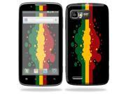 Mightyskins Protective Skin Decal Cover for Motorola Atrix 2 II (version 2) Cell Phone Sticker Rasta Flag