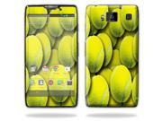Mightyskins Protective Skin Decal Cover for Motorola Droid Razr Hd & Razr Maxx HD Cell Phone wrap sticker skins Tennis