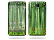 Mightyskins Protective Skin Decal Cover for Motorola Droid Razr Hd & Razr Maxx HD Cell Phone wrap sticker skins Bamboo