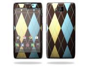 Mightyskins Protective Skin Decal Cover for Motorola Droid Razr Hd & Razr Maxx HD Cell Phone wrap sticker skins Argyle