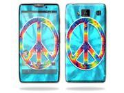 Mightyskins Protective Vinyl Skin Decal Cover for Motorola Droid Razr Maxx Android Smart Cell Phone wrap sticker skins - Peace Out