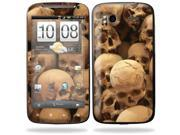 Mightyskins Protective Vinyl Skin Decal Cover for HTC Sensation 4G Cell Phone wrap sticker skins  - Skull Pile
