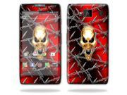 Mightyskins Protective Skin Decal Cover for Motorola Droid Razr Hd & Razr Maxx HD Cell Phone wrap sticker skins Pure Evil