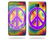 Mightyskins Protective Skin Decal Cover for Motorola Droid Razr Hd & Razr Maxx HD Cell Phone wrap sticker skins Hippie Time