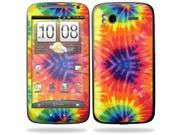 Mightyskins Protective Vinyl Skin Decal Cover for HTC Sensation 4G Cell Phone wrap sticker skins  - Tie Dye 2