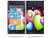 Mightyskins Protective Vinyl Skin Decal Cover for Nokia Lumia 900 4G Windows Phone AT&T Cell Phone wrap sticker skins Love Me