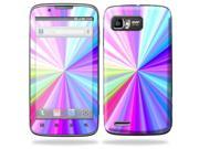 Mightyskins Protective Skin Decal Cover for Motorola Atrix 2 II (version 2) Cell Phone Sticker Rainbow Zoom