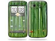 Mightyskins Protective Vinyl Skin Decal Cover for HTC Sensation 4G Cell Phone wrap sticker skins  - Bamboo