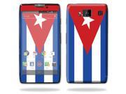 Mightyskins Protective Skin Decal Cover for Motorola Droid Razr Hd & Razr Maxx HD Cell Phone wrap sticker skins Cuban flag