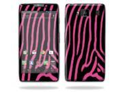 Mightyskins Protective Skin Decal Cover for Motorola Droid Razr Hd & Razr Maxx HD Cell Phone wrap sticker skins Zebra Pink