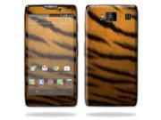 Mightyskins Protective Vinyl Skin Decal Cover for Motorola Droid Razr Maxx Android Smart Cell Phone wrap sticker skins - Tiger