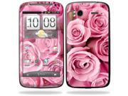 Mightyskins Protective Vinyl Skin Decal Cover for HTC Sensation 4G Cell Phone wrap sticker skins  - Pink Roses