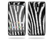 Mightyskins Protective Vinyl Skin Decal Cover for Motorola Droid Razr Maxx Android Smart Cell Phone wrap sticker skins - Zebra
