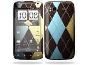 Mightyskins Protective Vinyl Skin Decal Cover for HTC Sensation 4G Cell Phone wrap sticker skins  - Argyle