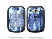 Mightyskins Protective Vinyl Skin Decal Cover for Nokia Lumia 900 4G Windows Phone AT&T Cell Phone wrap sticker skins Blue Camo