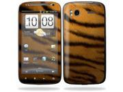 Mightyskins Protective Vinyl Skin Decal Cover for HTC Sensation 4G Cell Phone wrap sticker skins  - Tiger