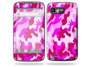 Mightyskins Protective Skin Decal Cover for Motorola Atrix 2 II (version 2) Cell Phone Sticker Pink Camo