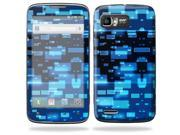 Mightyskins Protective Skin Decal Cover for Motorola Atrix 2 II (version 2) Cell Phone Sticker Space Blocks