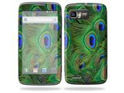 Mightyskins Protective Skin Decal Cover for Motorola Atrix 2 II (version 2) Cell Phone Sticker Peacock