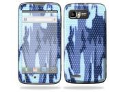 Mightyskins Protective Skin Decal Cover for Motorola Atrix 2 II (version 2) Cell Phone Sticker Blue Camo