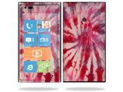 Mightyskins Protective Vinyl Skin Decal Cover for Nokia Lumia 900 4G Windows Phone AT&T Cell Phone wrap sticker skins Tie Dye 1