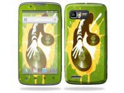 Mightyskins Protective Skin Decal Cover for Motorola Atrix 2 II (version 2) Cell Phone Sticker Sonic DJ