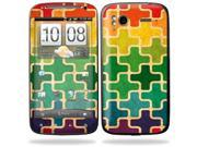 Mightyskins Protective Vinyl Skin Decal Cover for HTC Sensation 4G Cell Phone wrap sticker skins  - Color Swatch