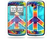 Mightyskins Protective Vinyl Skin Decal Cover for HTC Sensation 4G Cell Phone wrap sticker skins  - Peace Out