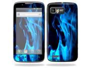 Mightyskins Protective Skin Decal Cover for Motorola Atrix 2 II (version 2) Cell Phone Sticker Blue Flames