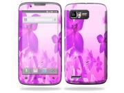 Mightyskins Protective Skin Decal Cover for Motorola Atrix 2 II (version 2) Cell Phone Sticker Pink Flowers