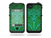 Mightyskins Protective Vinyl Skin Decal Cover for LifeProof iPhone 4 / 4S Case wrap sticker skins Floral Design