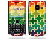 Mightyskins Protective Skin Decal Cover for Nokia X2 X2-01 Cell Phone Sticker Color Swatch