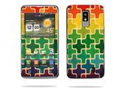 Mightyskins Protective Vinyl Skin Decal Cover for LG Spectrum 4G Cell Phone wrap sticker skins Color Swatch