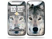 Mightyskins Protective Vinyl Skin Decal Cover for HTC Sensation 4G Cell Phone wrap sticker skins  - Wolf