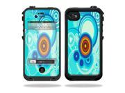 Mightyskins Protective Vinyl Skin Decal Cover for LifeProof iPhone 4 / 4S Case wrap sticker skins Modern Retro