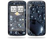 Mightyskins Protective Vinyl Skin Decal Cover for HTC Sensation 4G Cell Phone wrap sticker skins  - Wet Dreams