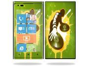 Mightyskins Protective Vinyl Skin Decal Cover for Nokia Lumia 900 4G Windows Phone AT&T Cell Phone wrap sticker skins Sonic DJ
