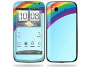 Mightyskins Protective Vinyl Skin Decal Cover for HTC Sensation 4G Cell Phone wrap sticker skins  - Rainbow