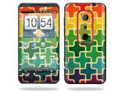 Mightyskins Protective Vinyl Skin Decal Cover for HTC Evo 3D 4G Cell Phone wrap sticker skins  - Color Swatch