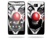 Mightyskins Protective Skin Decal Cover for Motorola Droid Razr Hd & Razr Maxx HD Cell Phone wrap sticker skins Evil Clown