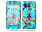 Mightyskins Protective Skin Decal Cover for Motorola Atrix 2 II (version 2) Cell Phone Sticker Peace Out